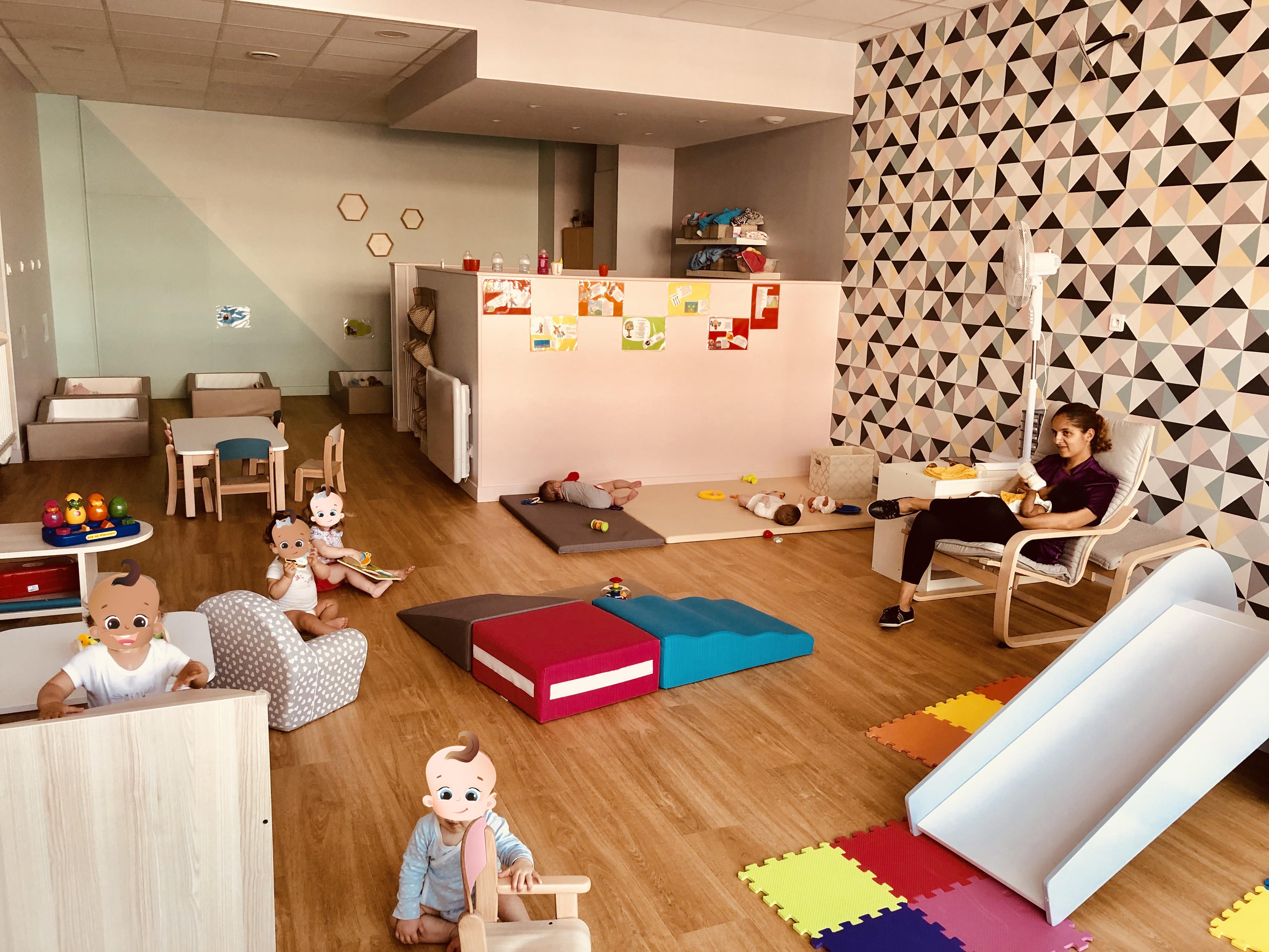 Les P'tits Boss nouvelle micro-crèche du réseau Kidsplace !