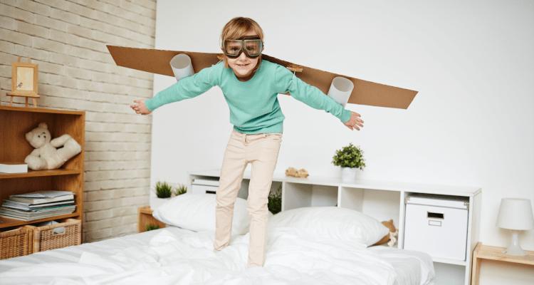 économies d'énergie dans une chambre d'enfant