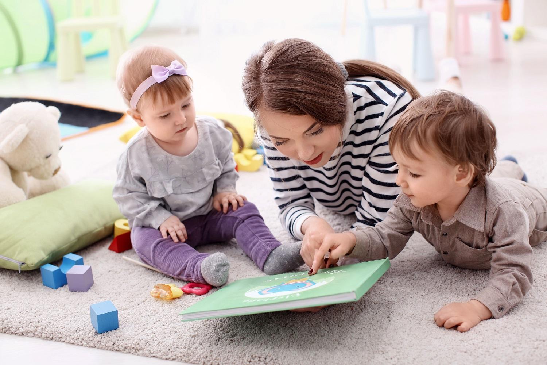 babysitter et enfants